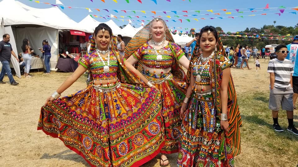 Garba Dance Costume