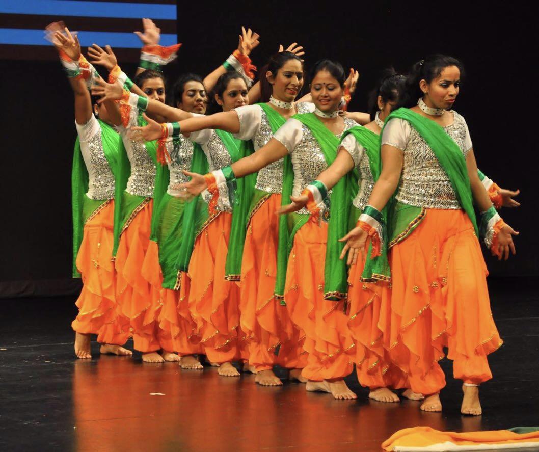 Indian Patriotic Costume