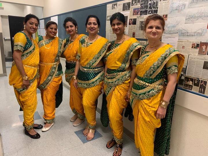 Lavani Dance Costume for Rent