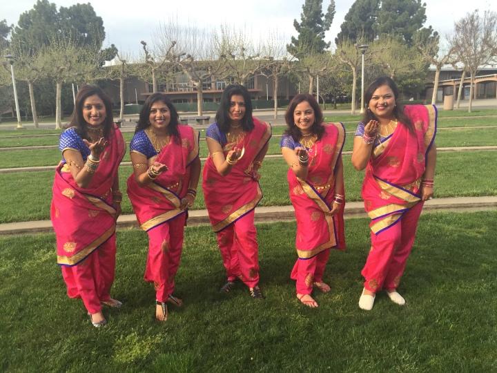 Lavani Dance Costumes for Rent