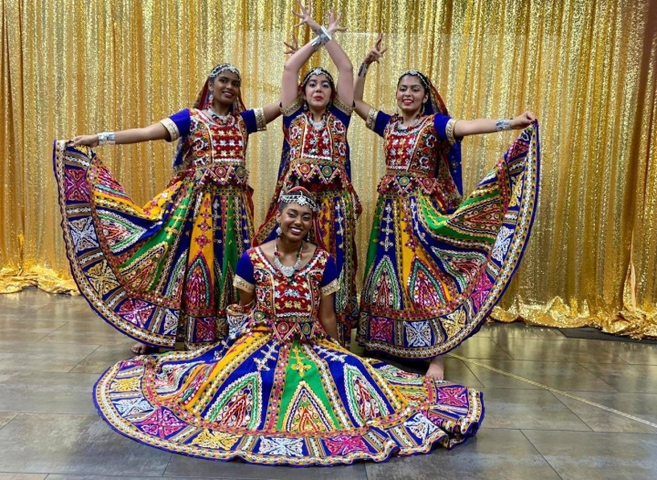Ghoomar Rajastani Dance Costumes for Rent